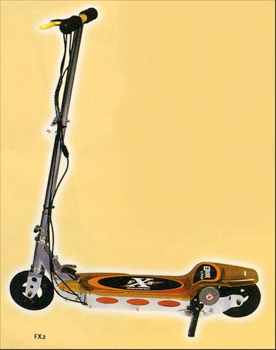 Electric Scooter on Fx2 Scooter Jpg  25470 Bytes